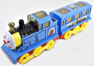 Железная дорога э/м(без рельс), арт.LX729A (1/48) фото