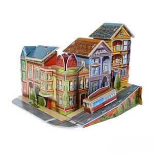 3D пазлы из пенокартона. ПРОСПЕКТ ( 24 дет) (10702070/080219/0025010), арт.589-E  фото