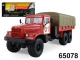 "маш ""KRAZ-255B"" пожарная охрана арт.65078 фото"