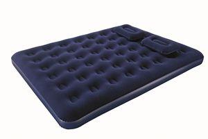 Матрас надувной (Queen), ручной насос + 2 подушки 203 х 152 х 22 см, арт.67374 фото
