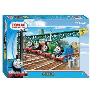 """Пазл 104 """"Томас и его друзья"""" (Галейн Лимитед) арт. 82154 фото"""