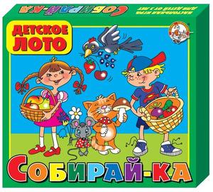 """Лото детское """"Собирай-ка"""" (большое) арт.00081 фото"""