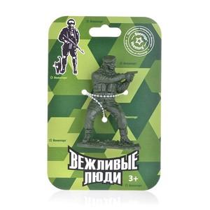 Солдаты Вежливые люди (1шт. на картонке: снайпер или пулеметчик в ассорт.), арт.325VL фото