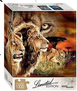 "Мозаика ""puzzle"" 1000 ""Найди 10 львов"" (Limited Edition), арт.79807 фото"