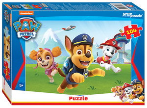 """Мозаика """"puzzle"""" 104 """"Щенячий патруль"""", арт.82187 фото"""
