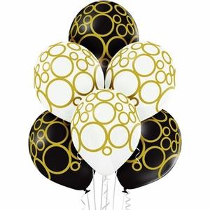 """Шелкография металлик 14"""" Круги золотые (1/25), арт.1103-1674 фото"""