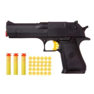 Пистолет с мягкими пульками 8 мм. в/п, арт.M7317 фото