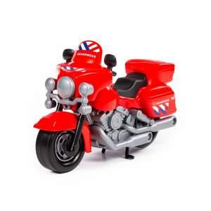 Мотоцикл пожарный (NL) (в пакете), арт.71316 фото