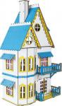 Кукольный домик белый ХДФ арт. Д-007 фото
