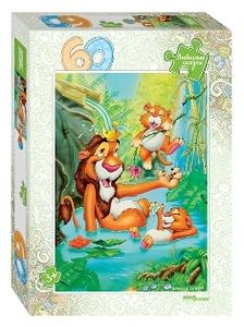 """Мозаика """"puzzle"""" 60 """"Король Лев"""" (Любимые сказки), арт.81029 фото"""