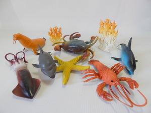 """Набор животных """"Морская жизнь""""  арт.S709/2 (кор.96) размер 19см.*15см. фото"""