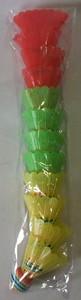 Воланчик для бадминтона 1/12 (цена за упаковку) арт.477-6 (кор/540) фото