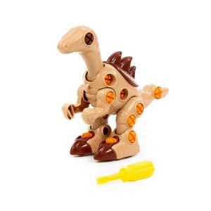 """Конструктор-динозавр """"Велоцираптор"""" (36 элементов) (в пакете), арт.76823 фото"""