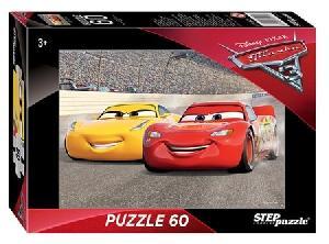 """Мозаика """"puzzle"""" 60 """"Тачки - 3"""" (Disney), арт.81171 фото"""