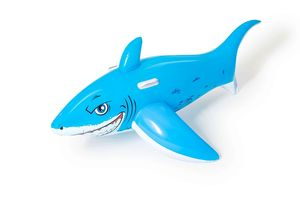 Игрушка для катания верхом Большая белая акула 183 х 102 см, арт.41032 фото