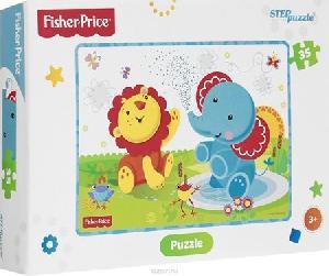 "Мозаика ""puzzle"" 35 ""Fisher Price"" (Mattel), арт.91148 фото"