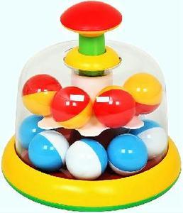 Юла-карусель с шариками (п/п пакет) арт.01323 фото