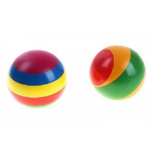 Мяч д. 125мм лакир. с-100ЛП( полоса) арт с-100ЛП фото