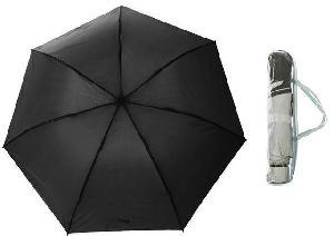 Зонт механический, R=48см, цвет чёрный арт.653101 фото