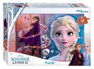 "Мозаика ""puzzle"" 60 ""Холодное сердце - 2"" (Disney), арт.81189 фото"