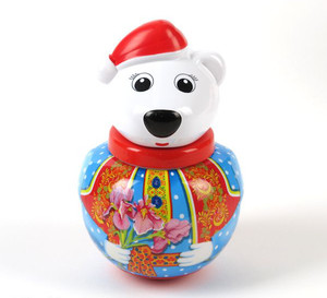 Неваляшка малая  Белый медведь Тема  в п/пакете арт.01739 фото