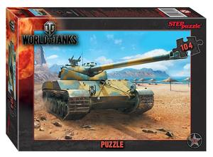 "Мозаика ""puzzle"" 104 ""World of Tanks"" (Wargaming), арт.82144 фото"