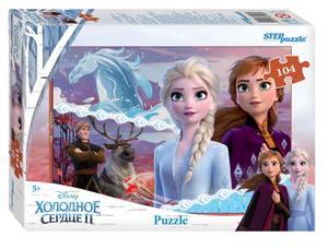 "Мозаика ""puzzle"" 104 ""Холодное сердце - 2"" (Disney), арт.82197 фото"
