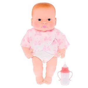 Кукла Пупс Маруся музыкальный интерактивный с бутылочкой 35см (пакет ), арт.ПУ35-4 фото