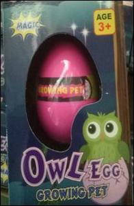 """Волшебное яйцо №126 """"Совушка""""/10*7,5*5/блок 12 шт, арт.126 фото"""