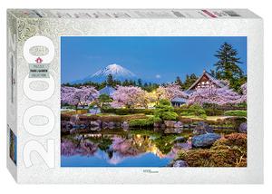 """Мозаика """"puzzle"""" 2000 """"Япония весной. Сидзуока"""", арт.84038 фото"""