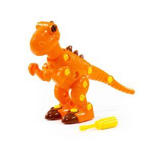 """Конструктор-динозавр """"Тираннозавр"""" (40 элементов) (в пакете), арт.76700 фото"""