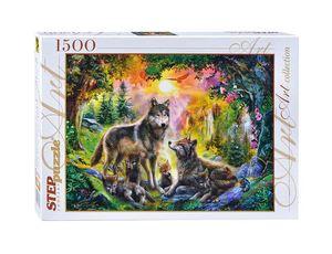 Пазл 1500  Волки арт.83046 фото