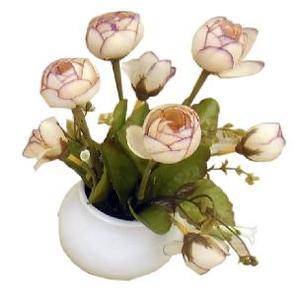 Цветы искусственные из пластмассы (кор.80) арт.84834 фото