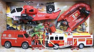 Набор пожарного (в кор.12), арт.911-7 фото