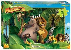 """Мозаика """"puzzle"""" 35 MAXI """"Мадагаскар - 3"""" (Dreamworks, Мульти), арт.91244 фото"""
