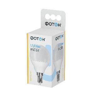 Лампа светодиодная ФОТОН LED A60 10W E27 4000K (кор.10шт.)арт.22826 фото