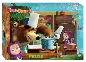 "Мозаика ""puzzle"" 260 ""Маша и Медведь - 2"" (Анимаккорд), арт.95082 фото"