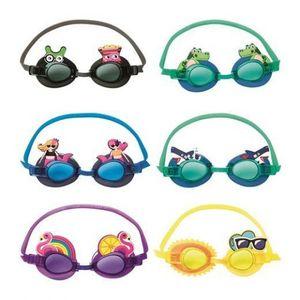 Очки для плавания (6 забавных дизайнов) 3+, арт.21080 фото