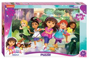 "Мозаика ""puzzle"" 360 ""Даша и друзья"" (Никелодеон), арт.96074 фото"