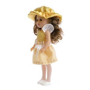 "Кукла ""Модница желтая"" 1/6, арт.10218 фото"