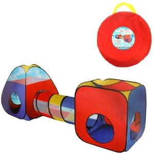 Комплекс игровой, палатки 2шт. с туннелем, 320*95*98см, сумка на молнии, арт.985-Q62 фото
