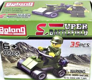 Конструктор Военный Bolong-SuperBattlefield 35 дет. в кор., арт.43752 фото