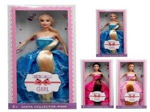 Кукла CharmGirl в ассор.без туфель с длинной косой в кор., арт.46247 фото