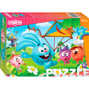 "Мозаика ""puzzle"" 104 ""Смешарики"", арт.82209 фото"