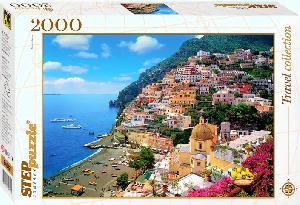 """Пазл 2000 """"Италия. Побережье Амалфи"""" арт. 84022 фото"""