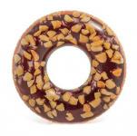 """Круг для плавания """"Пончик шоколадный"""" (кор.12шт) арт.56262NP фото"""