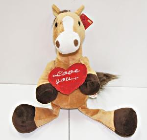 Лошадь с сердцем м/н арт.В55 фото