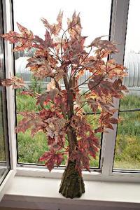 Дерево декоративное JW0762-4 (кор.24) (пластм. 90см.), шт. фото