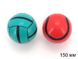 Мяч 150 мм лакир. с-55ЛП (спорт) арт.с-55ЛП (1/16) фото