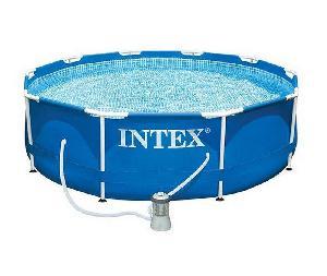 Металл. каркасный бассейн с фильтр-насосом (кор.1шт)арт.28202 фото